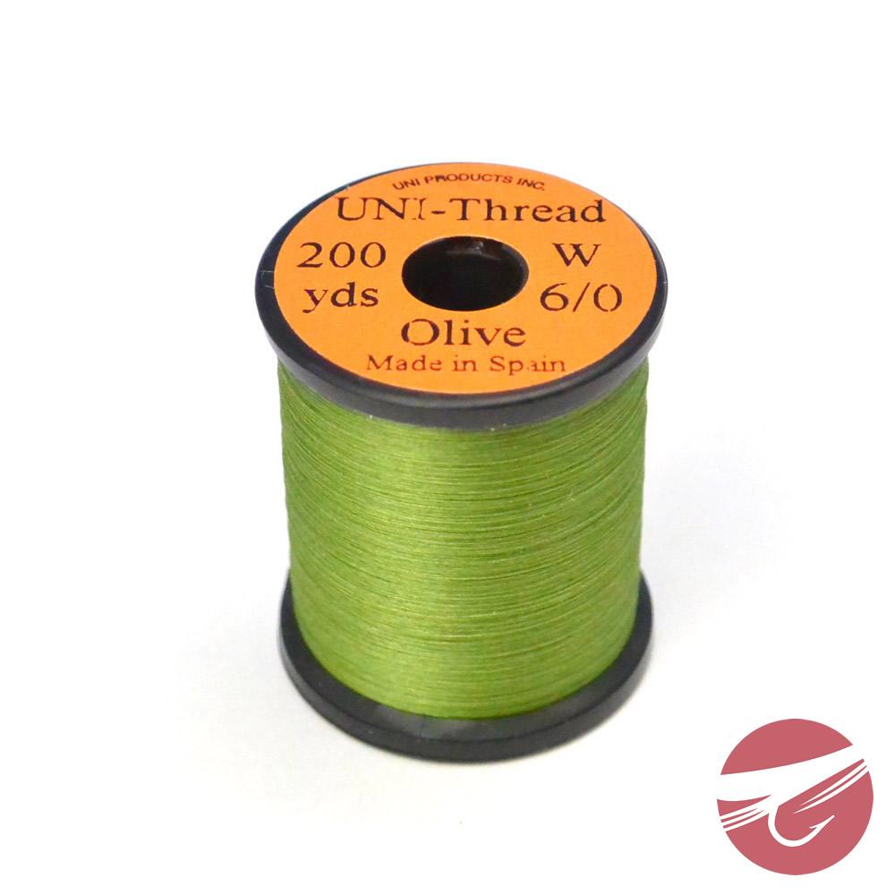 Wapsi Uni-Thread 6//0 Olive