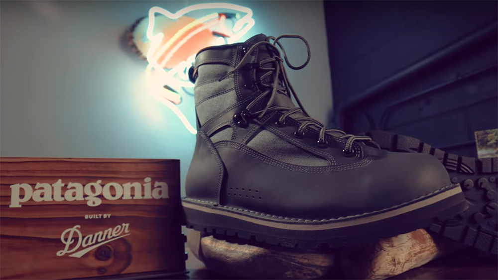5f1cb115 Check out the River Salt Wading Boots at AnglersAll.com. Foot Tractor Wading  Boots. The Patagonia and Danner collaborative ...